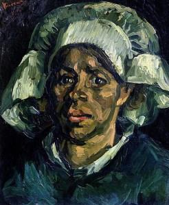 Van Gogh, Potato Eaters, detail