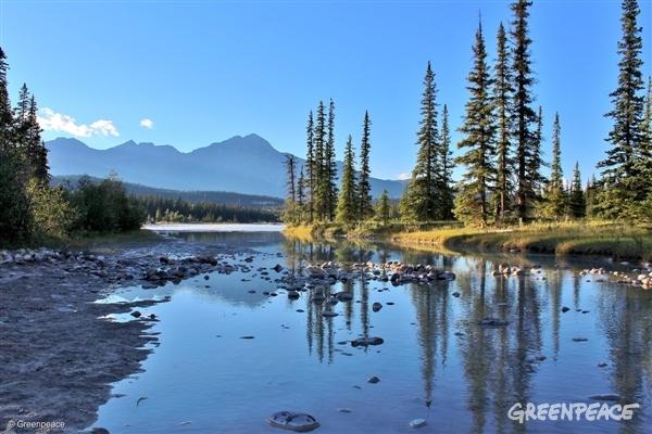 Jasper National Park in Canada, 2017