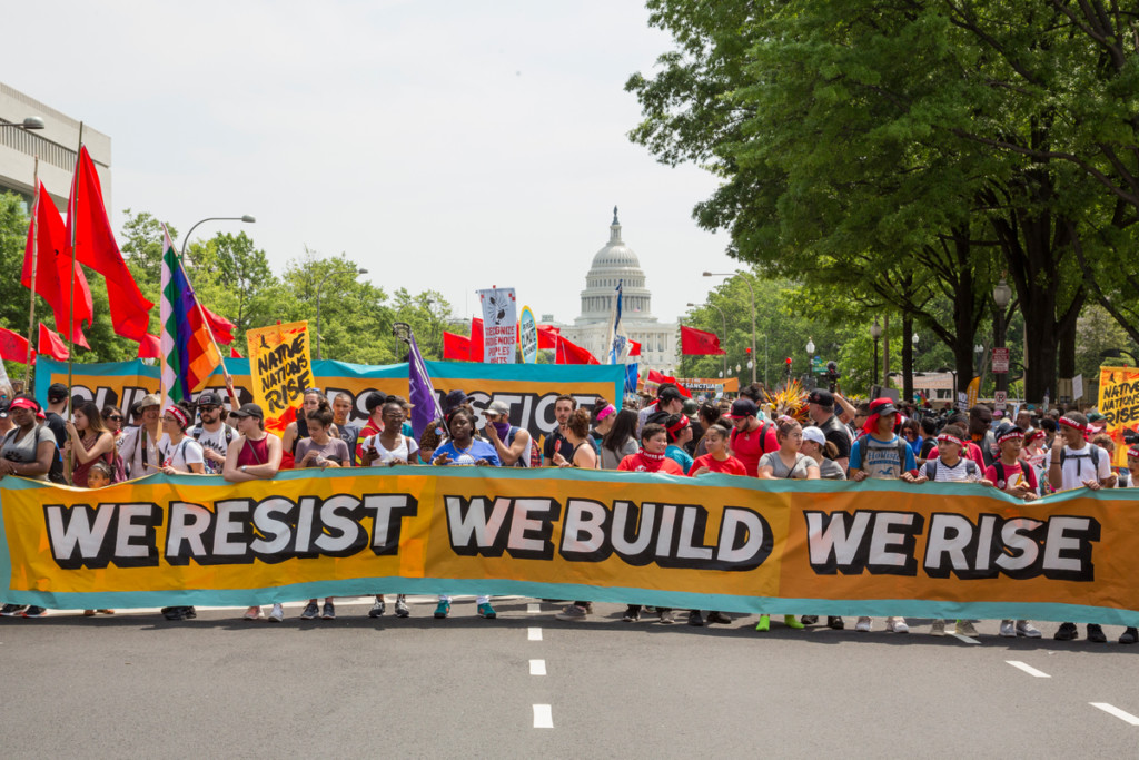 People's Climate March in Washington D.C © Amanda J. Mason / Greenpeace