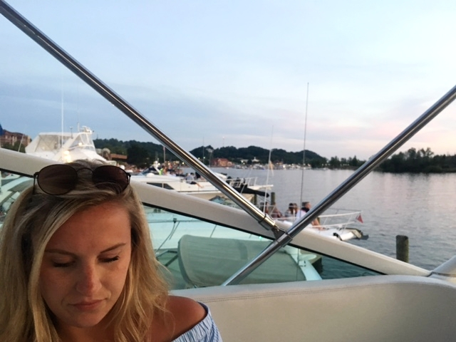 We headed back to the boat to watch the fireworks for 4th of July.