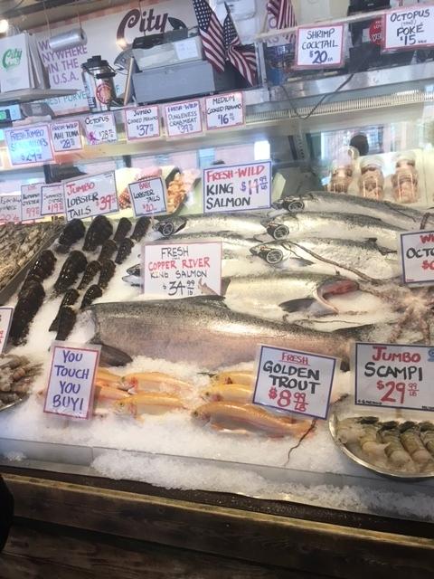 So much fresh fish!