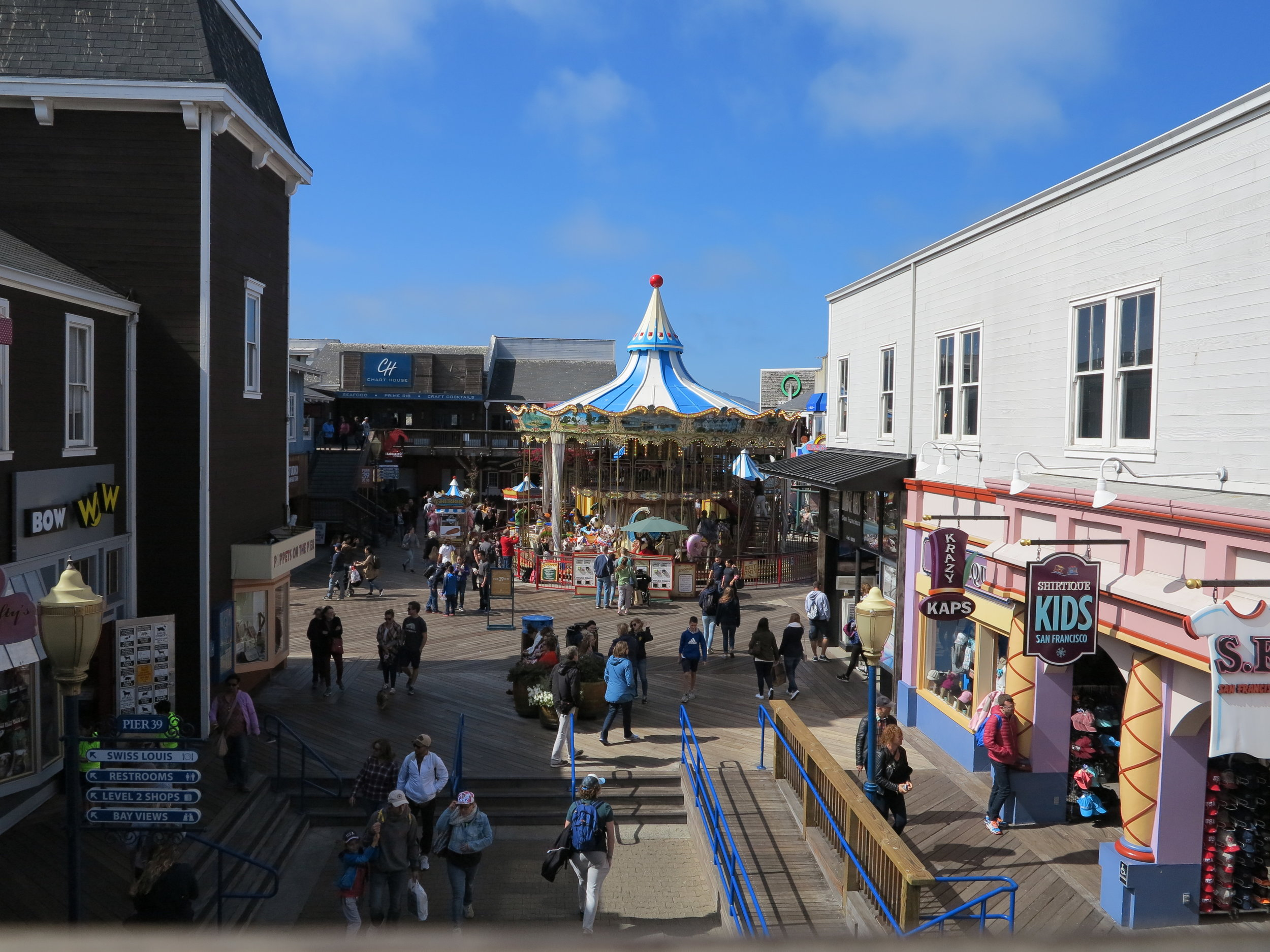 Carnival at Pier 39.