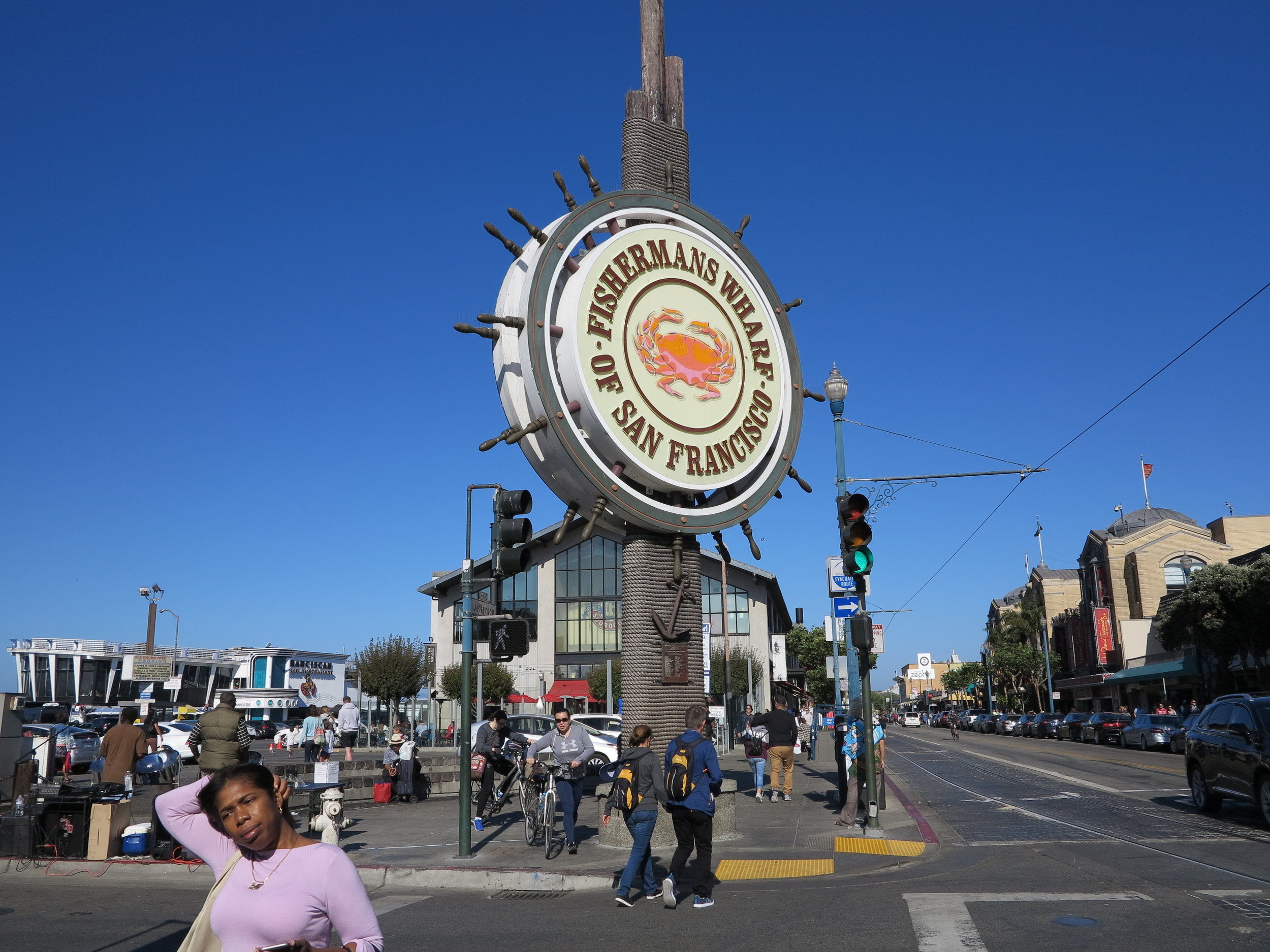 We stopped for some food at The Franciscan at Fishermans Wharf and had a few drinks and some appetizers.