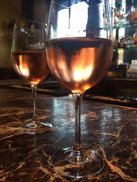 Ordered some Rose...my favorite summer wine!