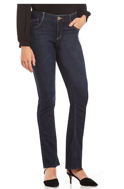 """Democracy """"Ab""""solution itty bitty bootcut jeans - $68.00"""