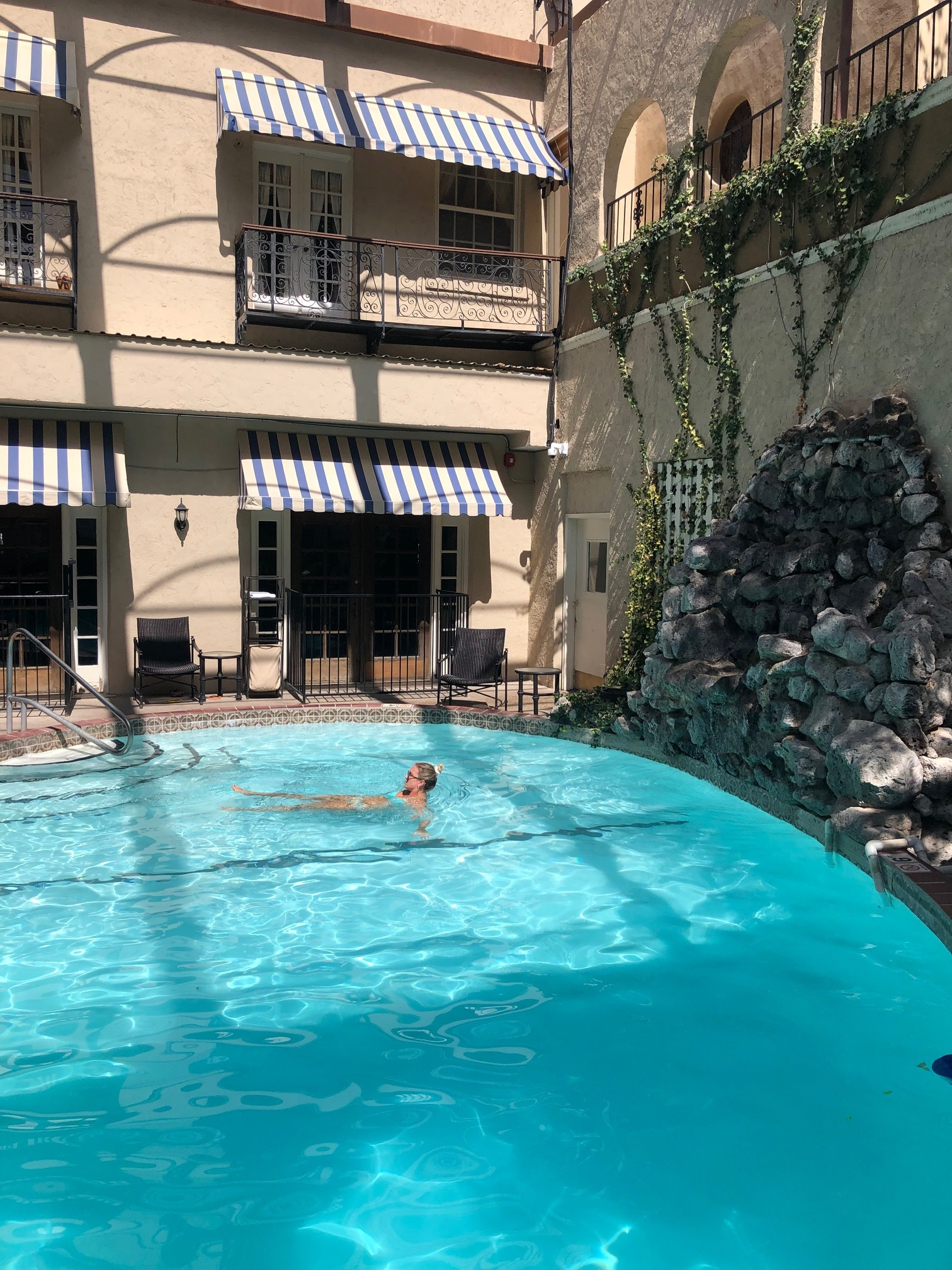 Loved the pool at Hotel Paisano