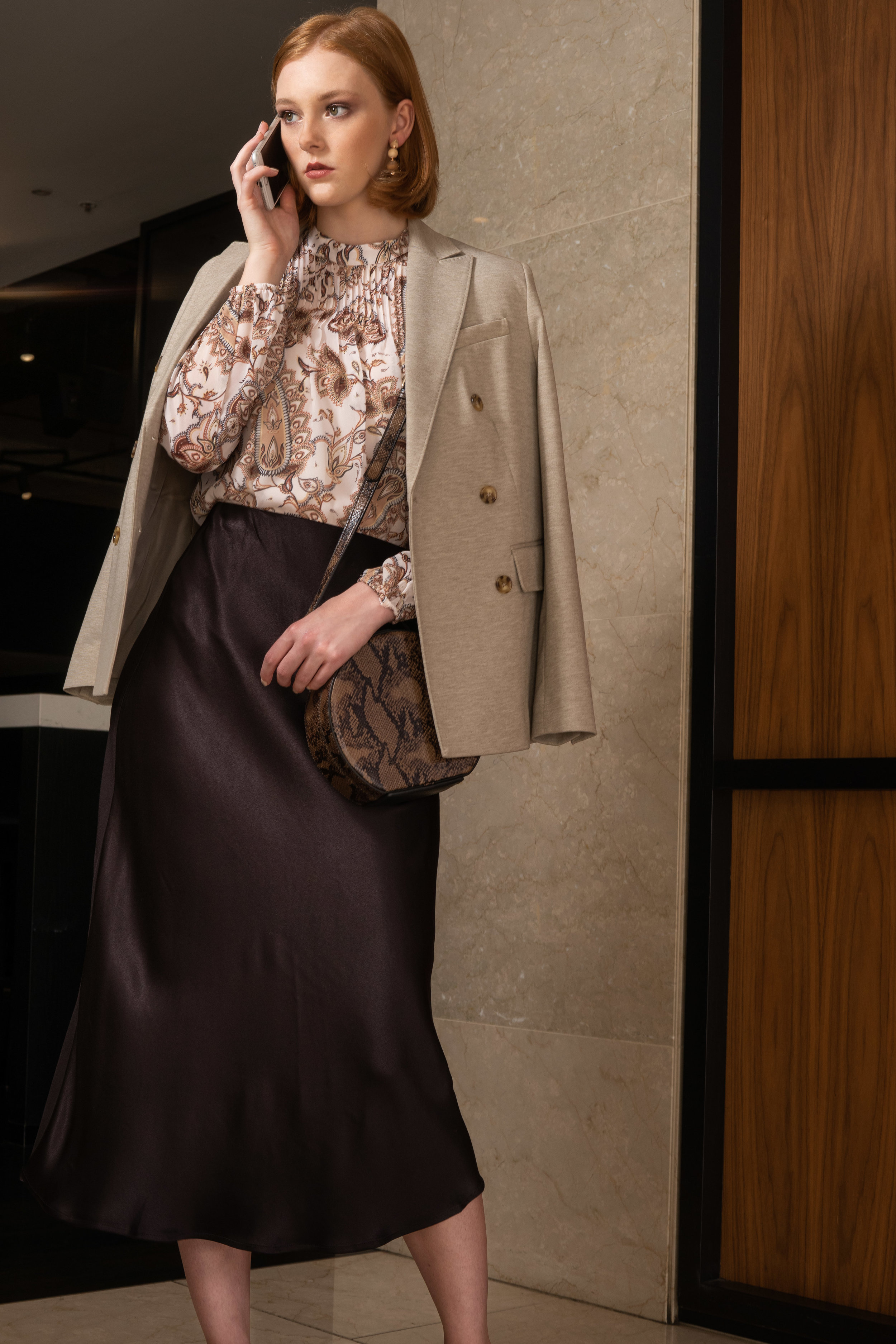 Sunday Mail, Fashion with Mirella, Office/work fashions with Jamie at the Hilton Adelaide.  Photo: Nick Clayton