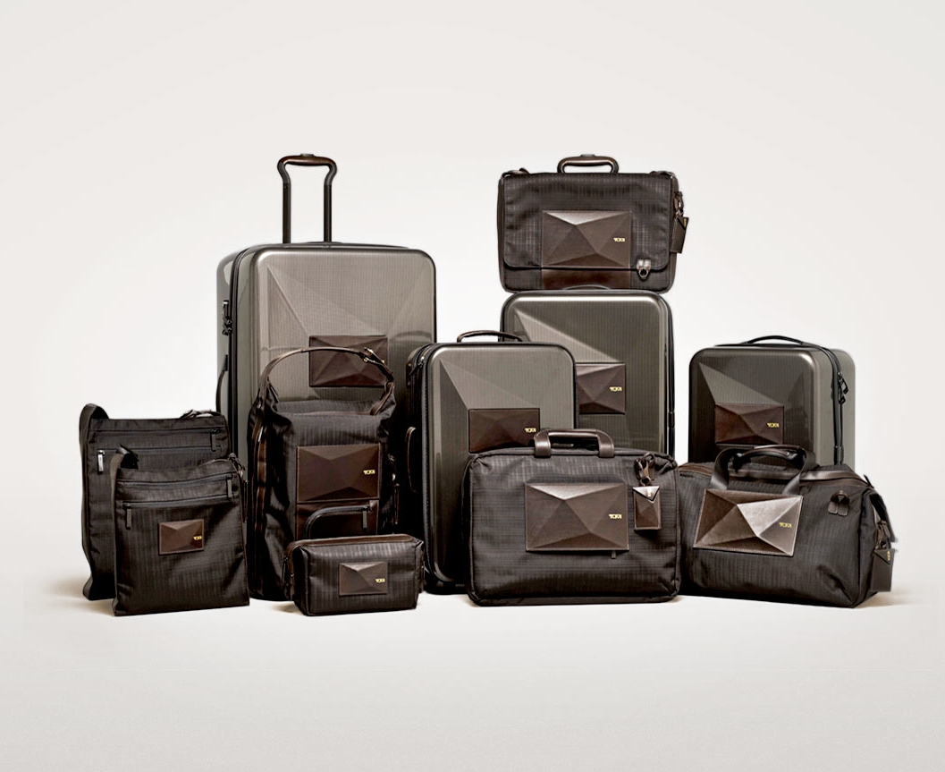 """Dror for Tumi    Client: Tumi    Work done at Dror.   The Dror for Tumi Collection featured luggage that transformed to meet the modern business traveler's ever-changing needs. The 11-piece collection included the first ever expandable hard-case carry-on for Tumi. Clabots' revolutionary """"living hinge"""" feature allowed one to adjust the bag's depth and nearly double its overall capacity.  Red Dot Award for Product Design 2013 ( International Expandable Carry-On )  Travel & Leisure's 2013 Design Awards ( Tote / Backpack )"""