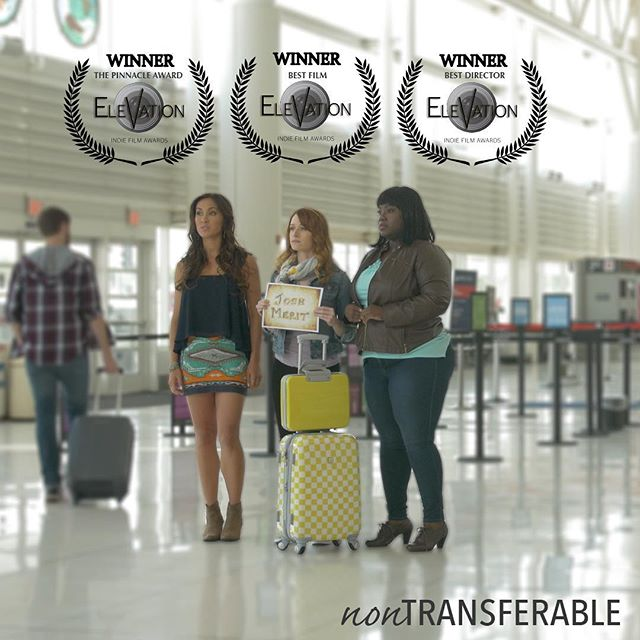 We are SOARING with 3 WINS from the #ElevationIndieFilmAwards for The Pinnacle Award, Best Film and Best Director! #nontransferablefilm Who wants to go to IRELAND Sep 30?!?!?