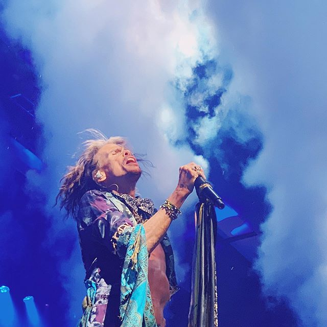 Sing with me, sing for the years. Sing for the laughter sing for the tears. Sing with me, just for today— maybe tomorrow, the good lord will take you away.. . DREAM ON! DREAM ON! . Epic life lesson from @iamstevent who shatters every myth about aging, life and what your dreams should look like. . . . . . #getbusyliving #aerosmith #dreamon #ageisjustanumber #over50 #over60 #over70 #singforthetears
