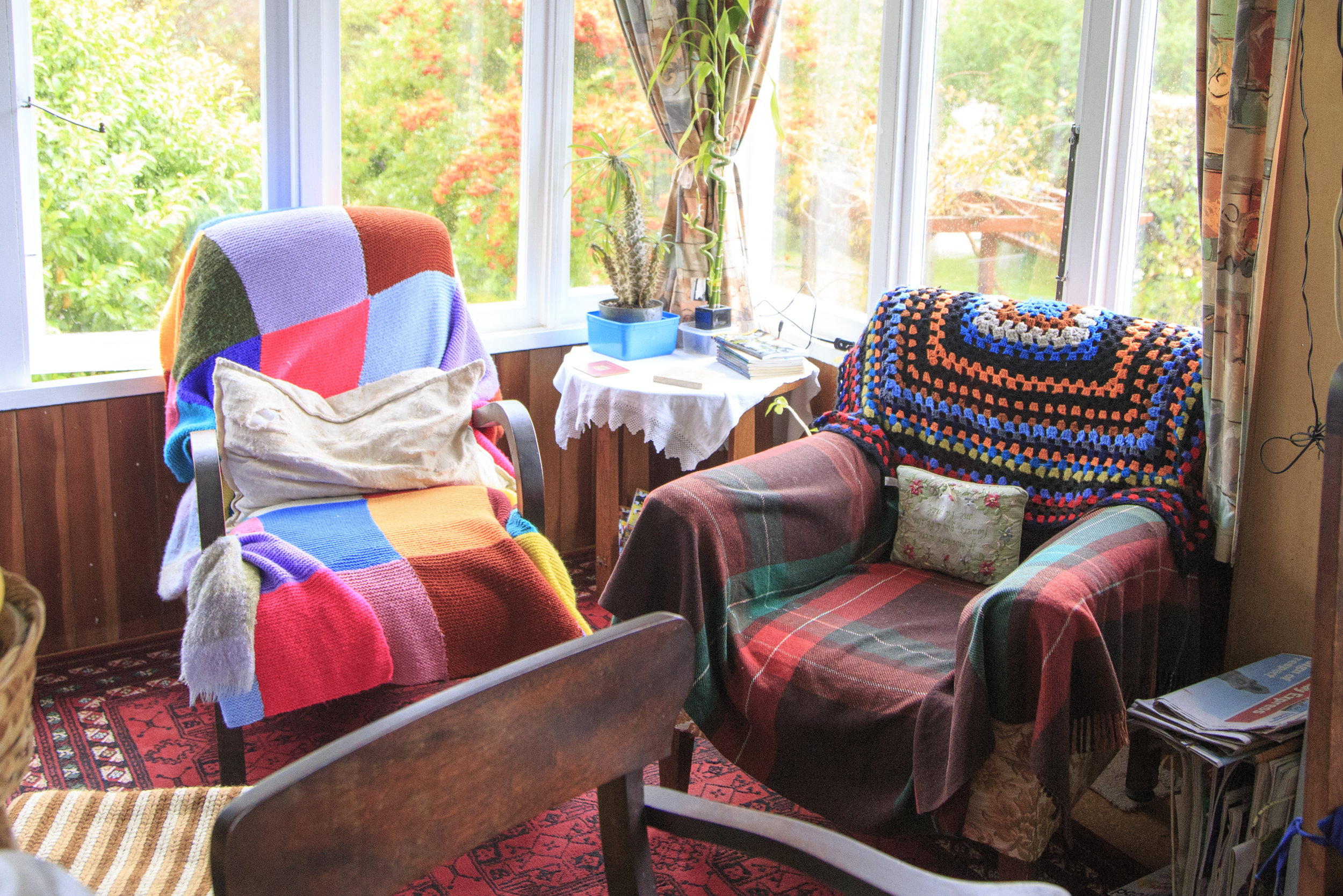 Cosy comforts on the island