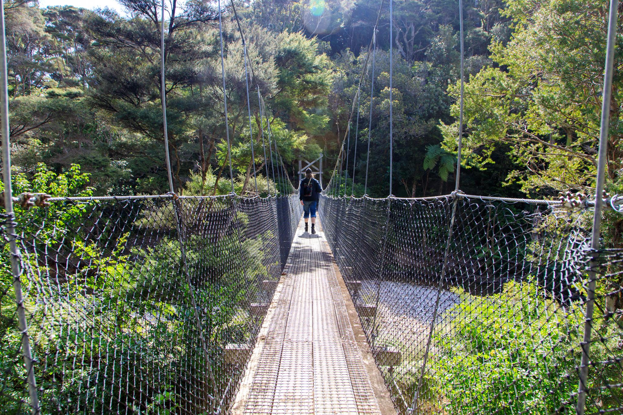 Can't go past a good swingbridge