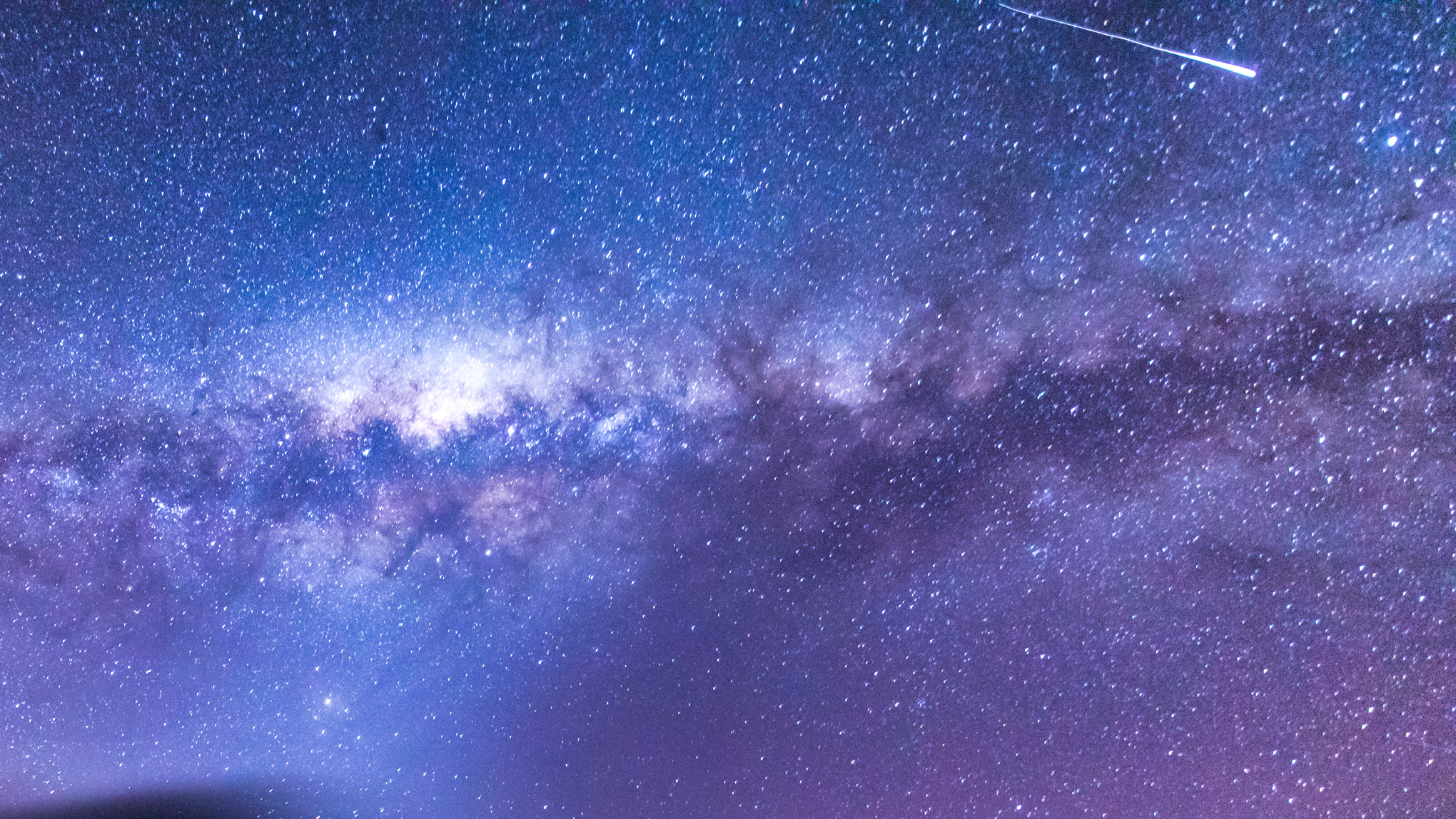 Orionids Meteor Shower captured above the Milkyway and Galactic Kiwi