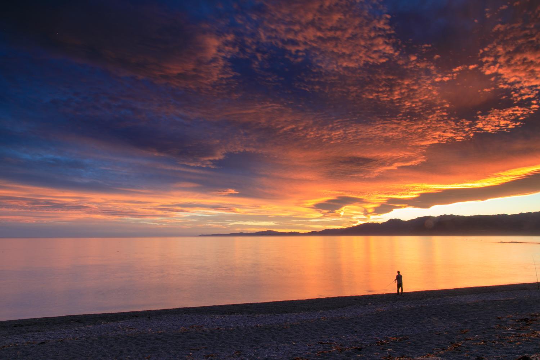 Sunset, South Bay, Kaikoura