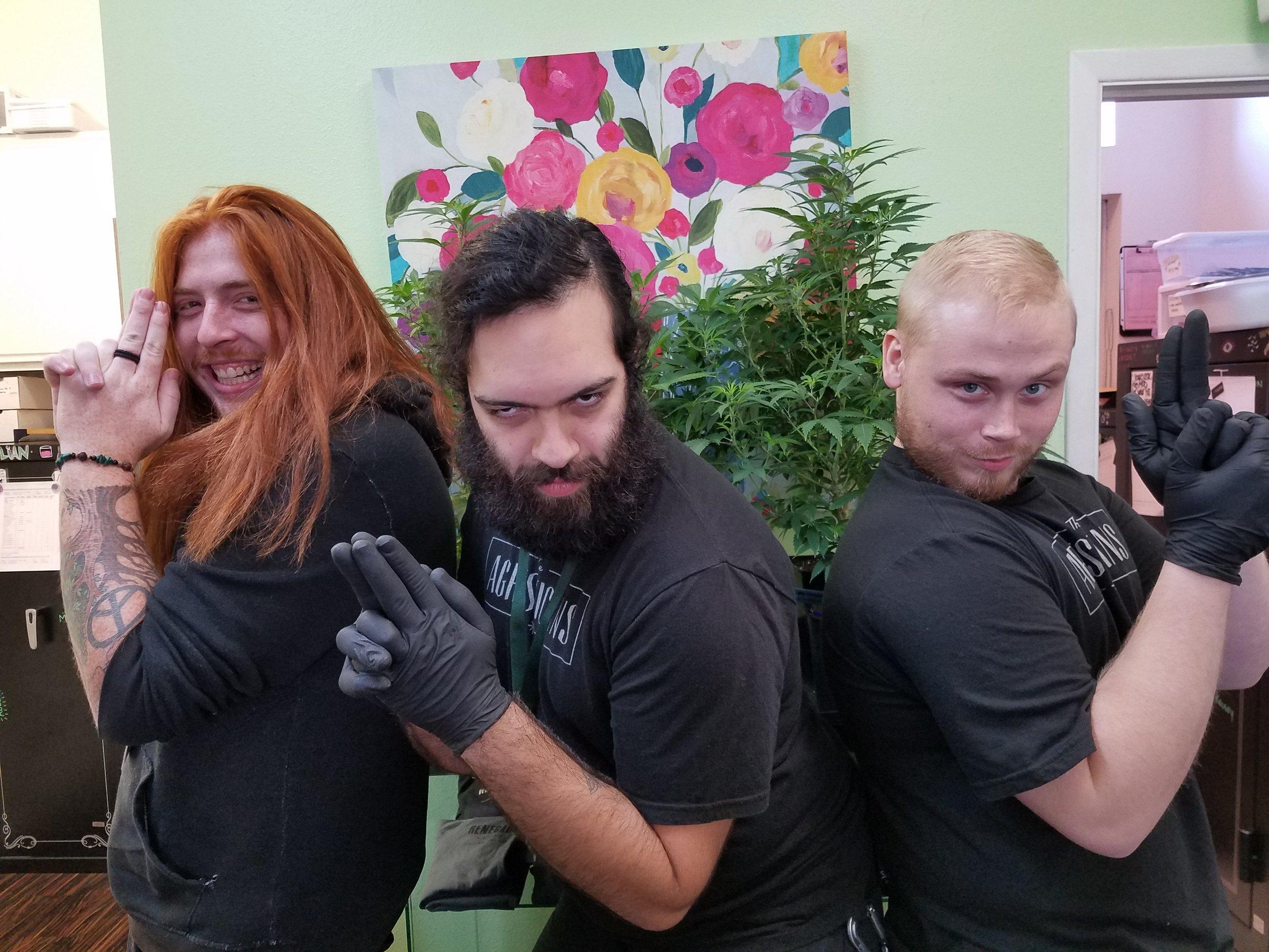 Devin, Jesse, and Dan
