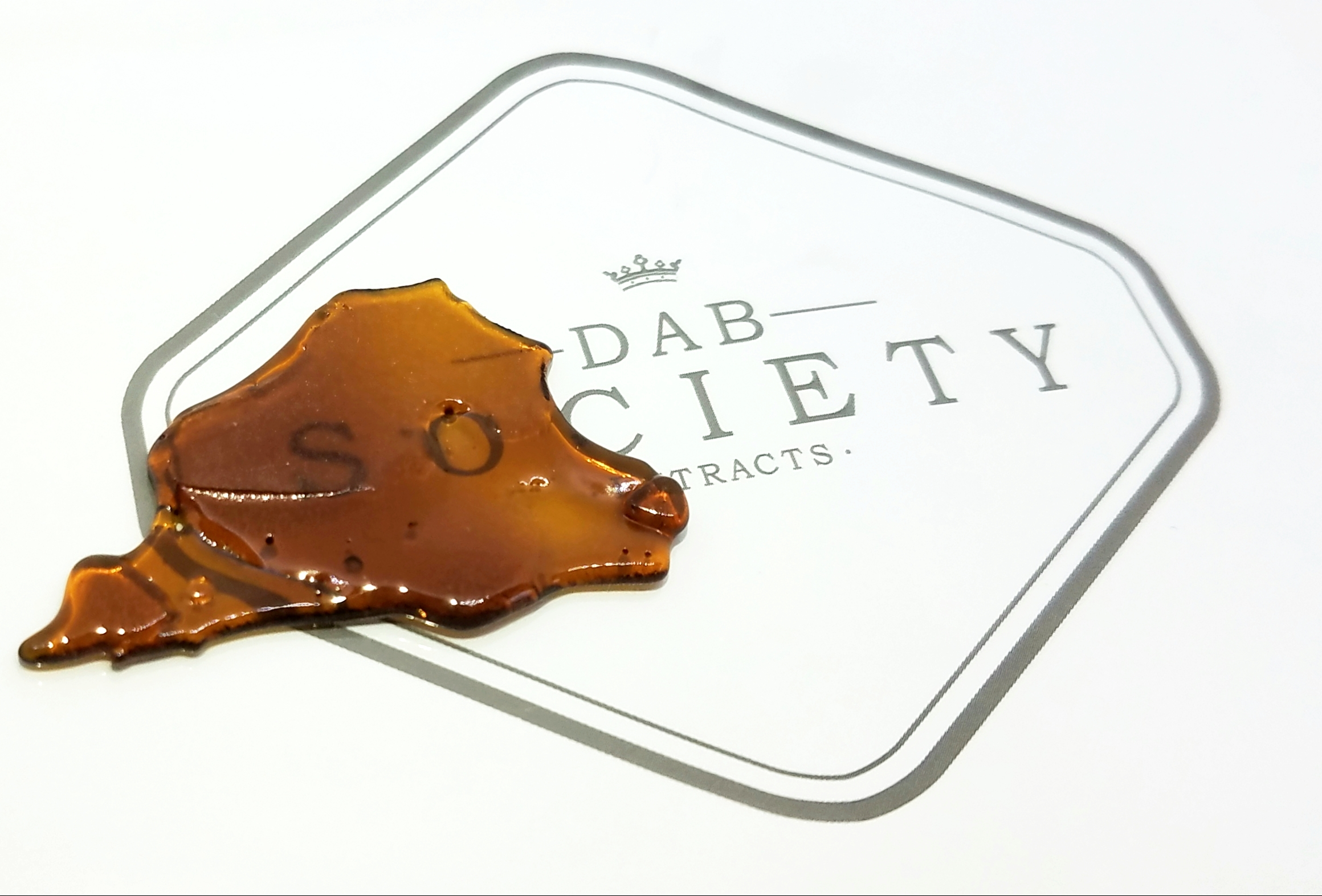 Silver Hawk produced by Dab Society. Extract made from flower grown by Yerba Buena.
