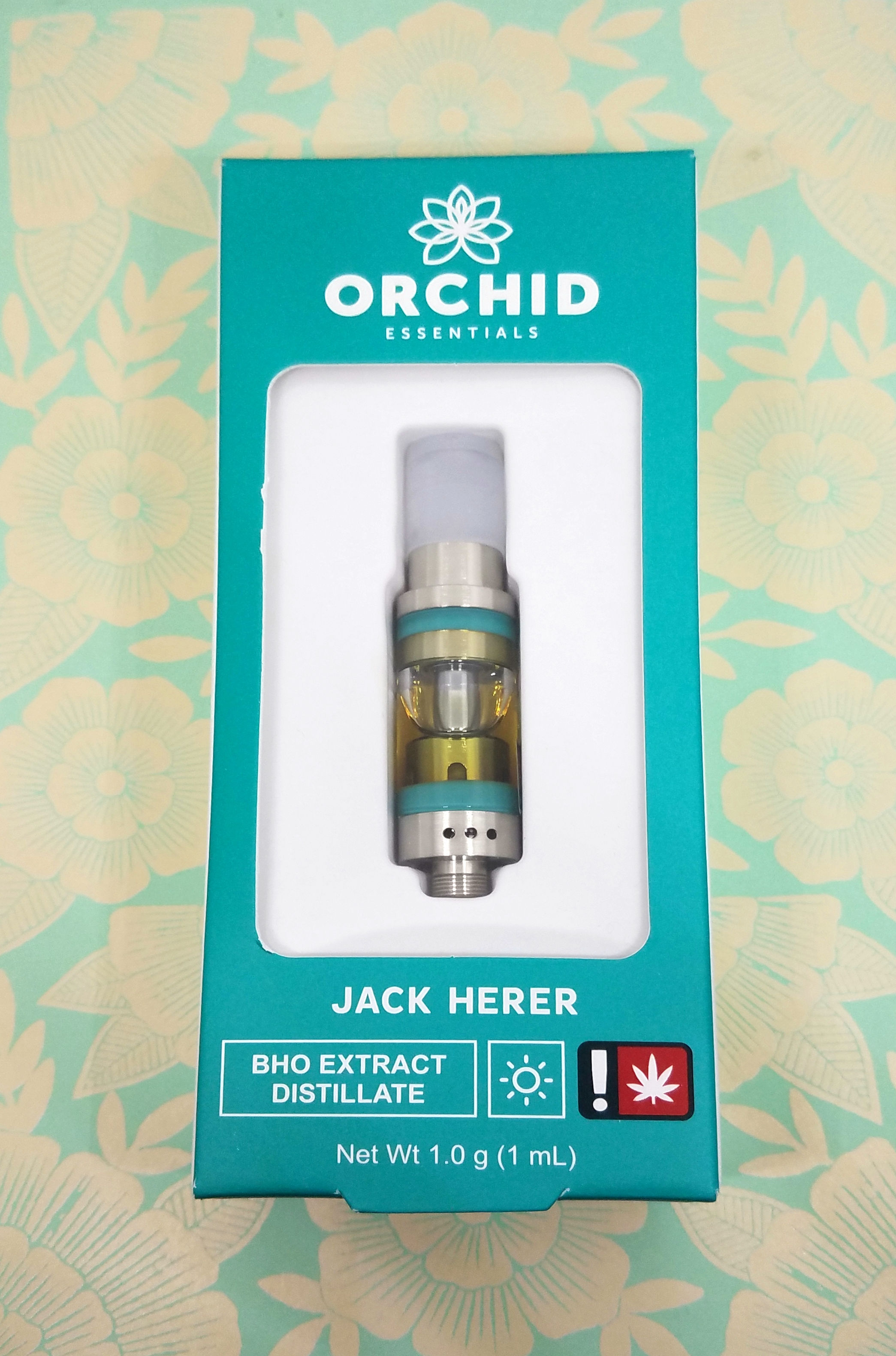 Jack Herer produced by Orchid Essentials