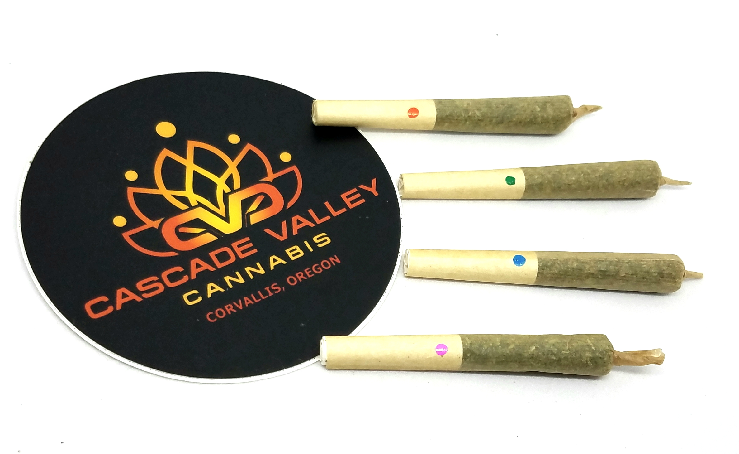 Sour Tangie Variety Petites Pack grown and produced by Cascade Valley Cannabis