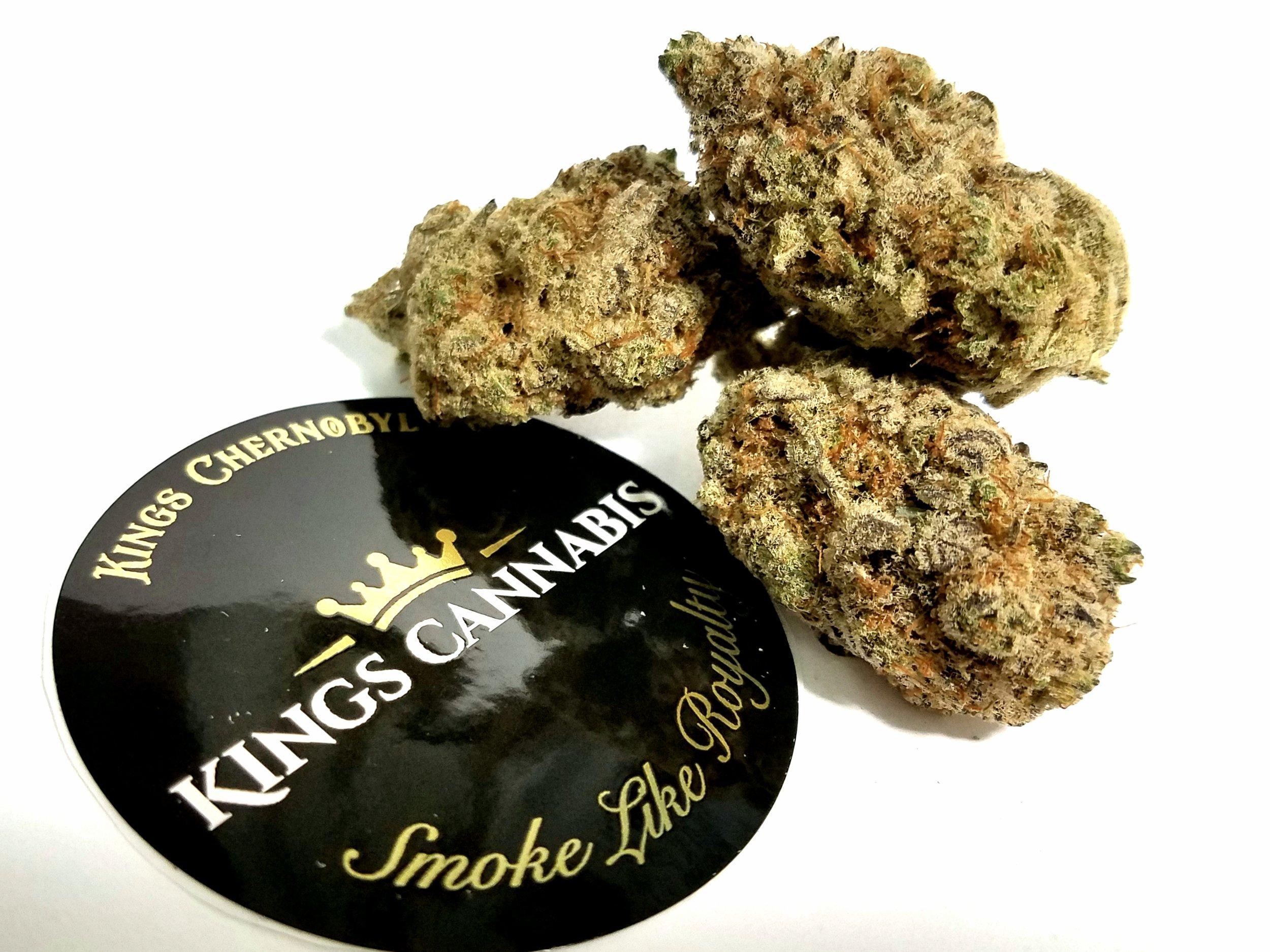 Kings Chernobyl grown by Kings Cannabis