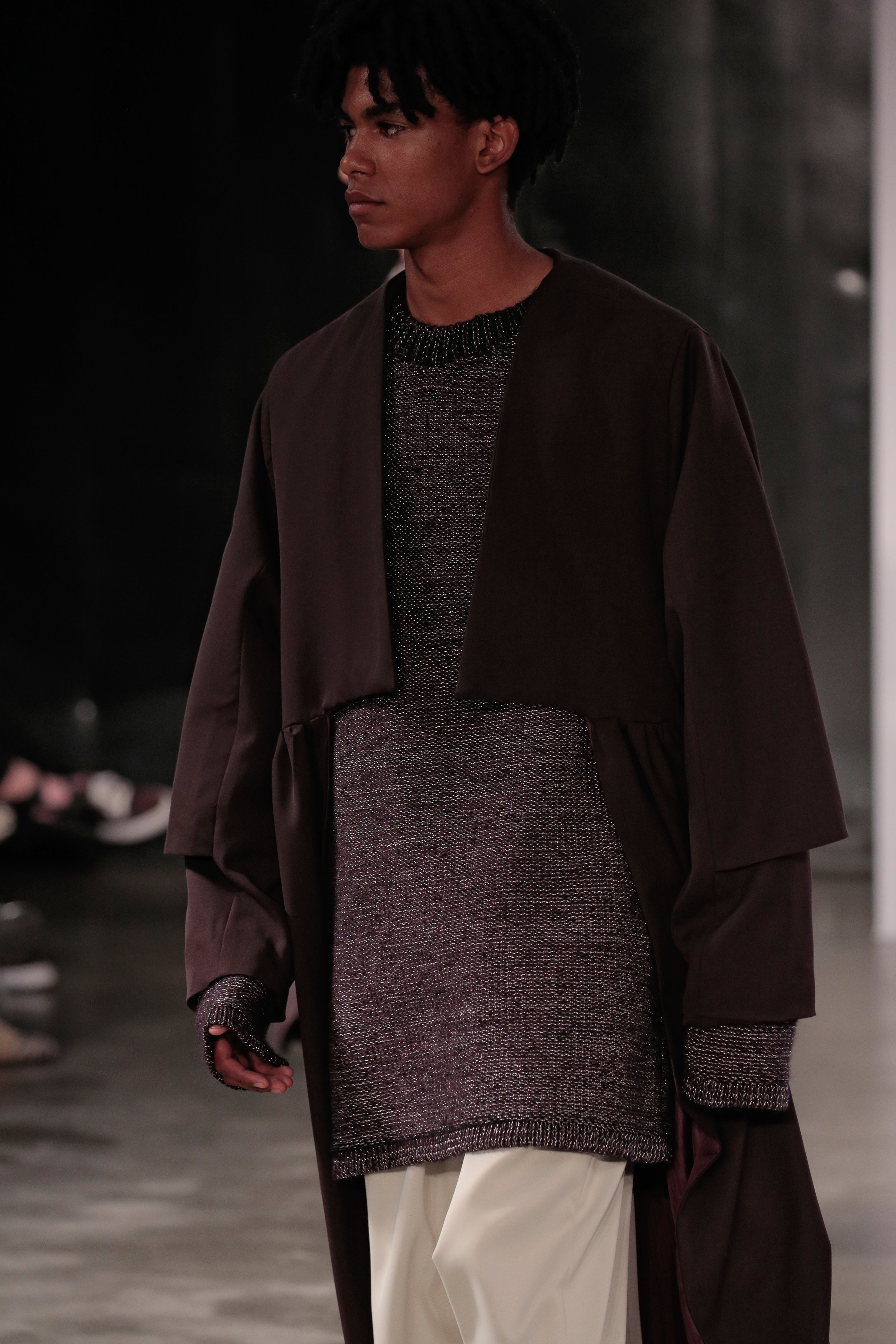 Graduation Fashion Show    Runway photographs in high resolution by Randy Brooke, GettyImages