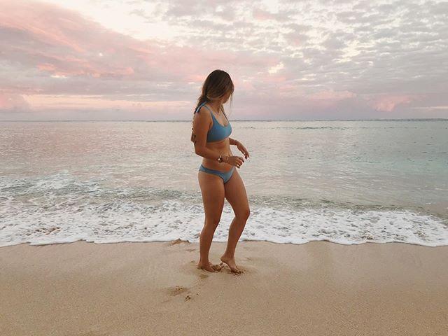 Sunrise dip 🐚