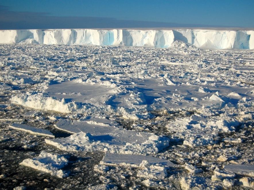 The Thwaites Iceberg Tongue