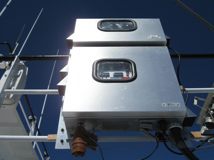 Measuring Atmospheric Mercury in West Atlantic Ocean 2