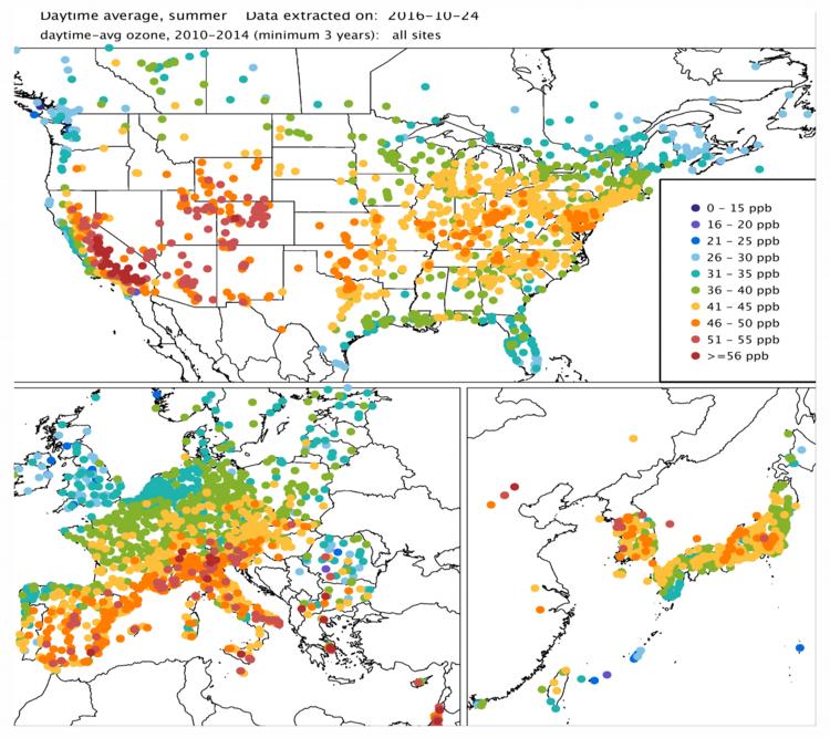 Tropospheric Ozone Assessment Report (TOAR )