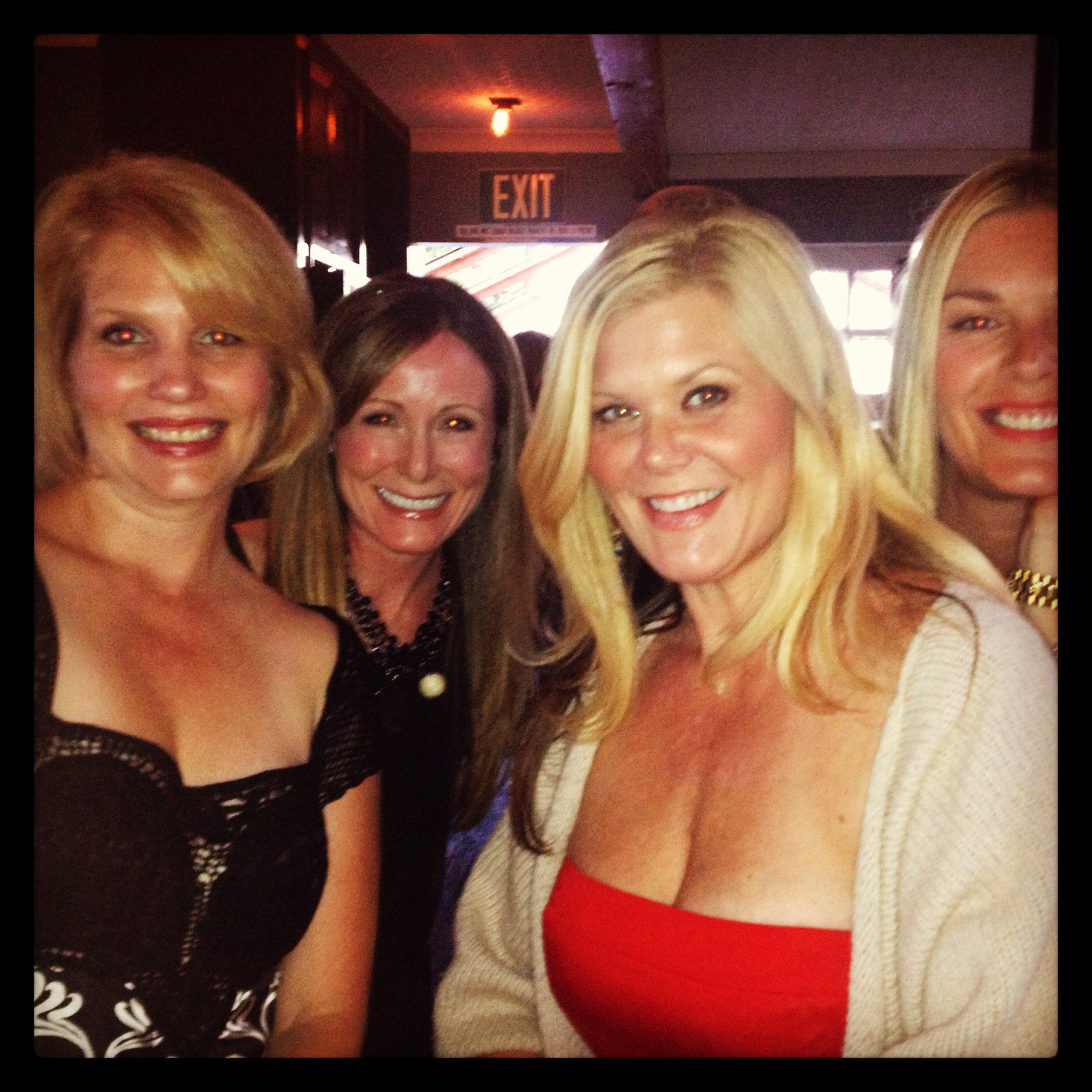"Last night out with ""the girls"" (pre-masectomy)"
