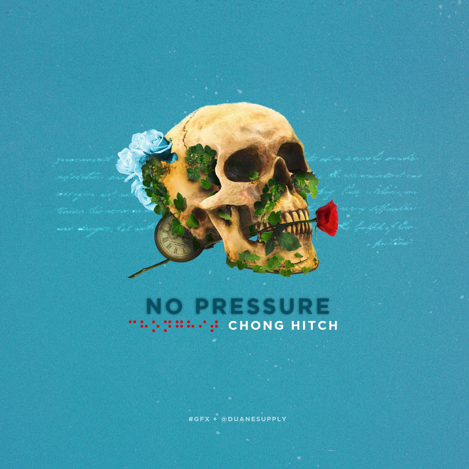 """No Pressure"" Artwork Direction"