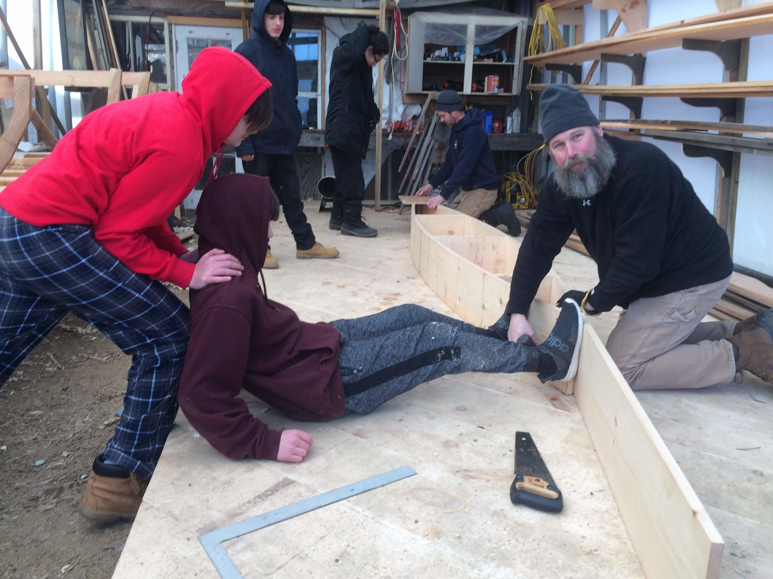 Making the Building Bed