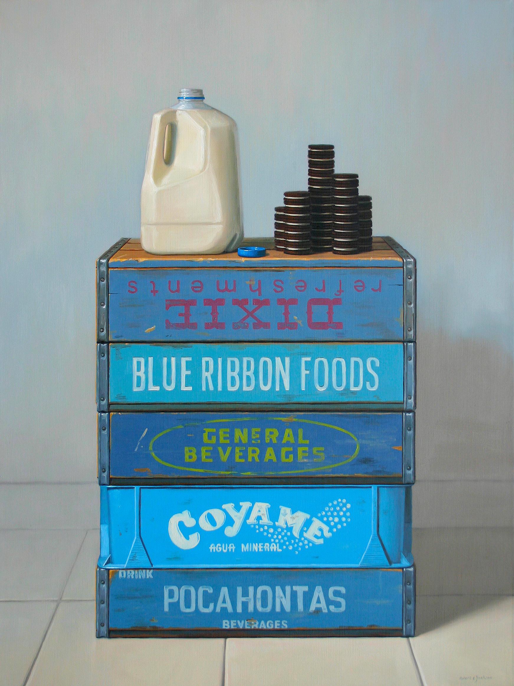 "Comfort Food, Oil on linen 40"" x 30"""
