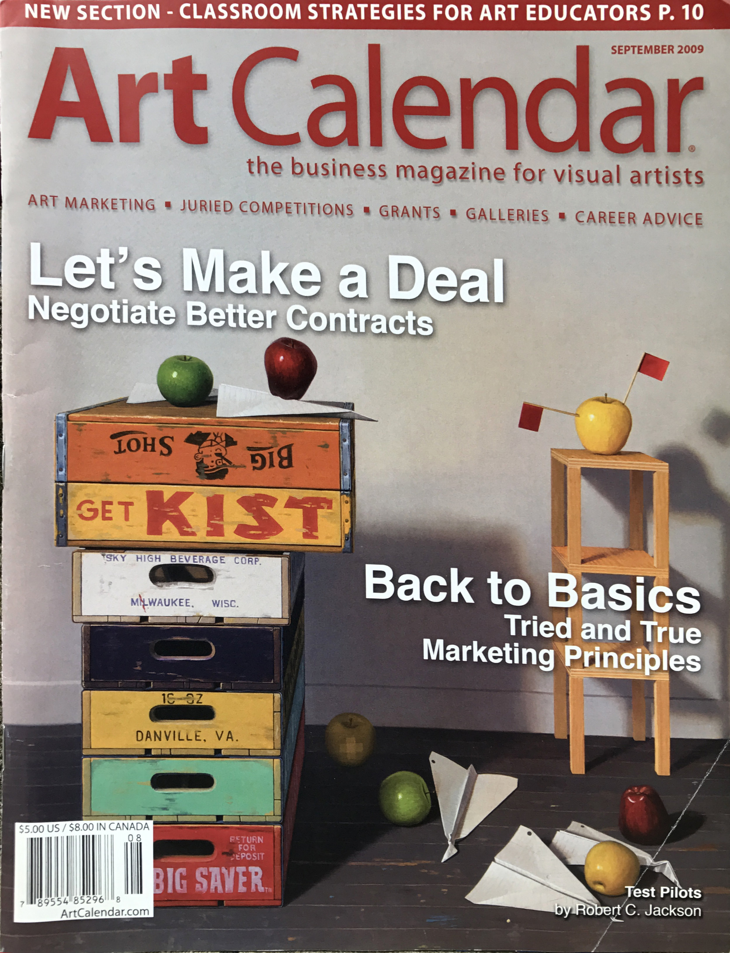 Art Calendar The Business Magazine for Visual Artists