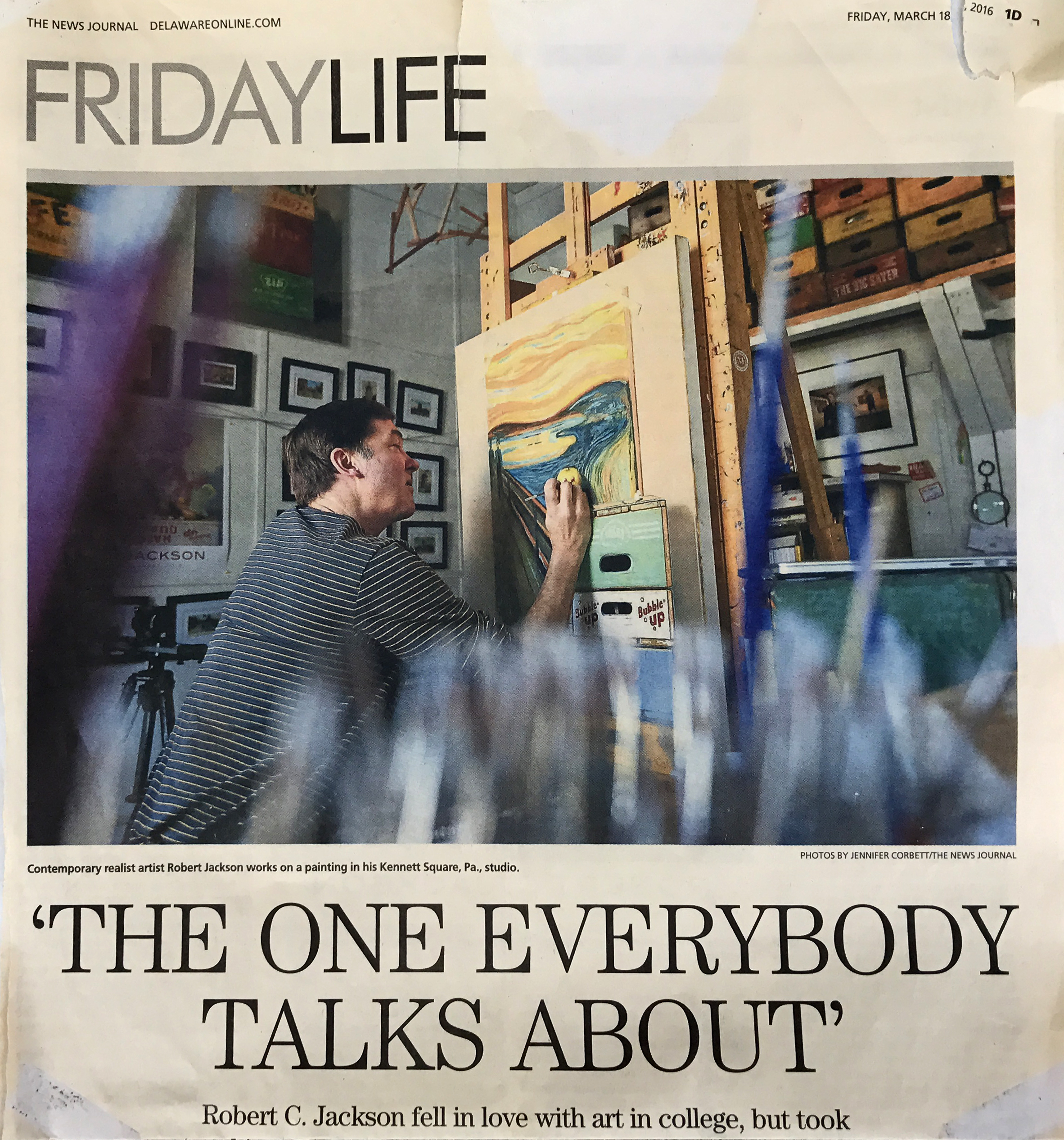 "The News Journal ""The One Everyone Talks About"""