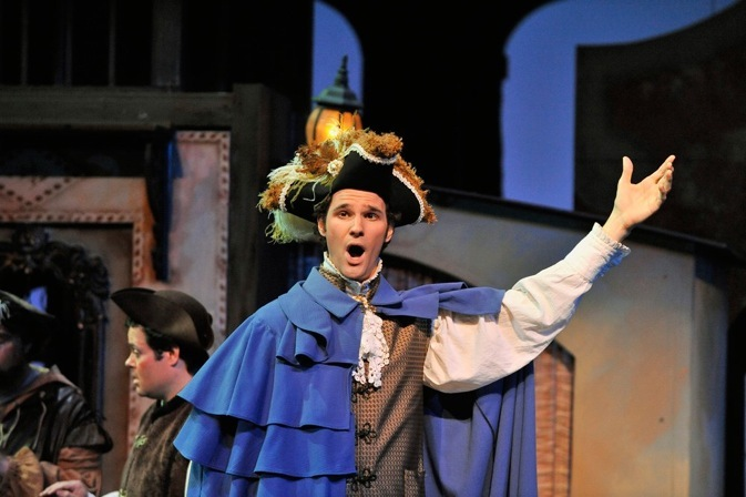 As Count Almaviva, Barber of Seville, Townsend Opera