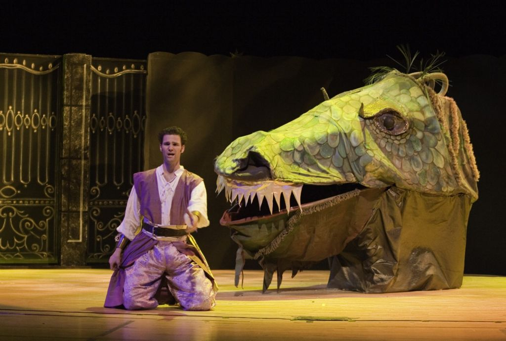 As Tamino, The Magic Flute, Boston Lyric Opera's family production.
