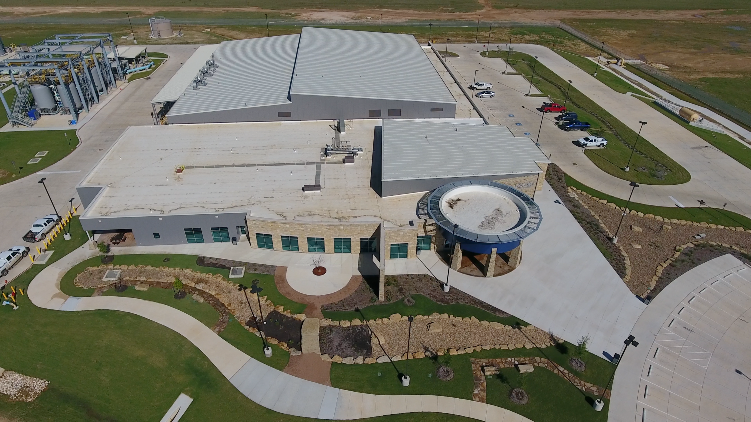 SAWS Desal Plant, San Antonio, Texas Drone Photo