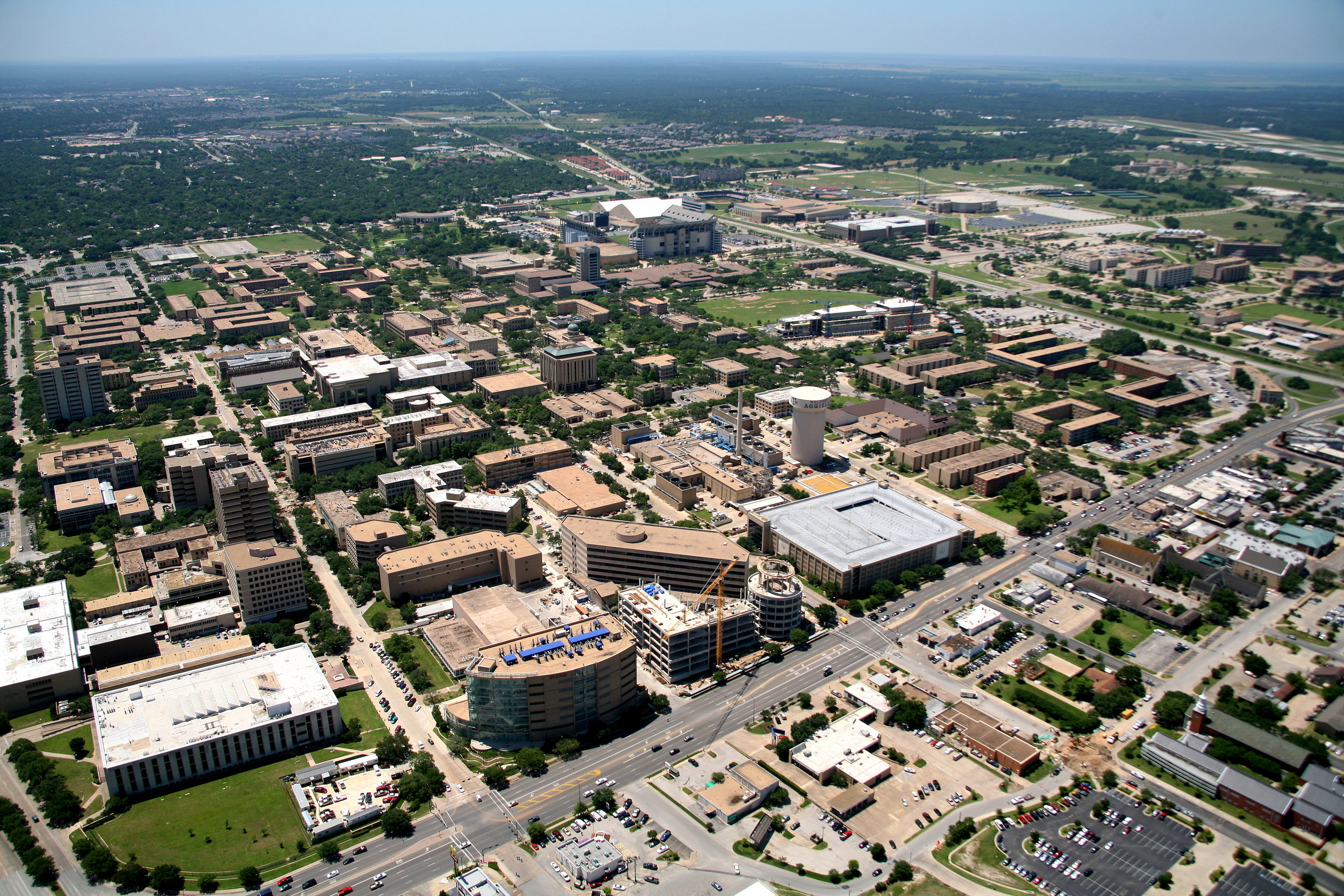 Texas A&M, College Station, Texas - College Station Aerial Photographer - Aerial Drone Image - Aerial Drone Video - Bryan, TX