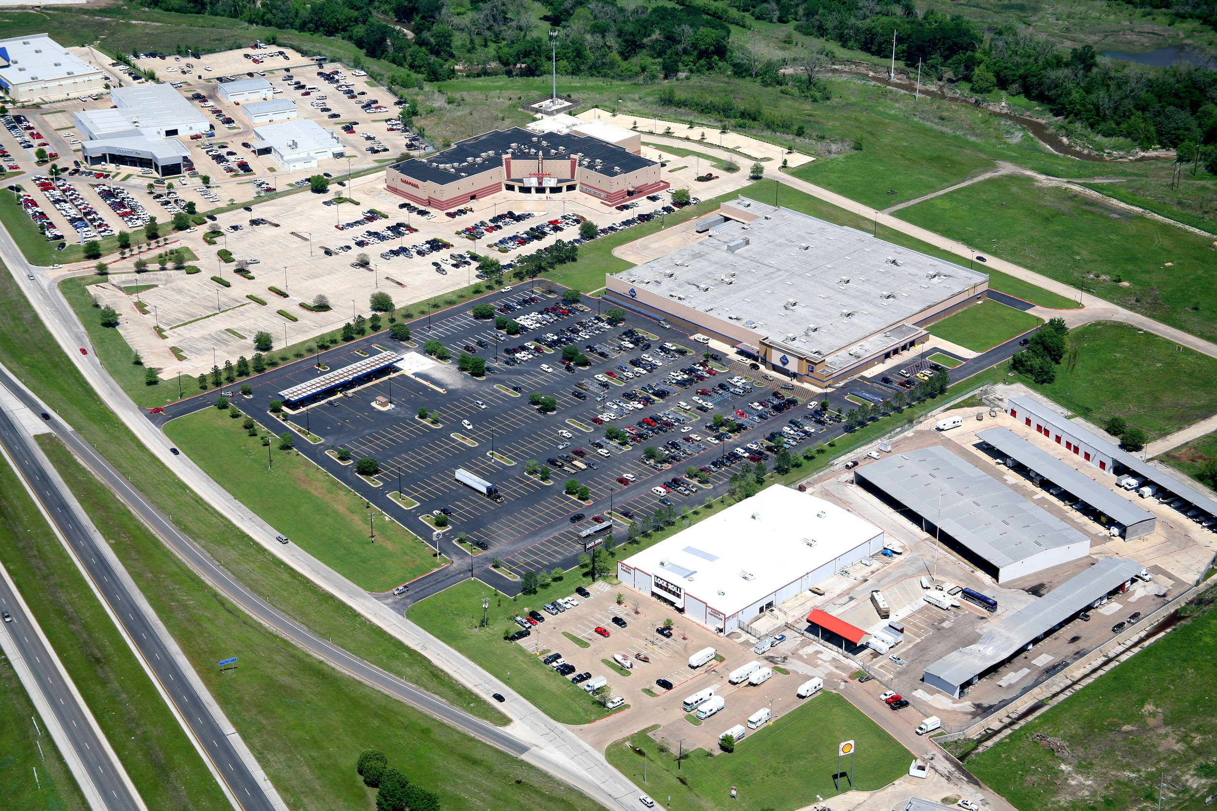 Sam's Club, College Station, Texas - College Station Aerial Photographer - Aerial Drone Image - Aerial Drone Video - Bryan, TX