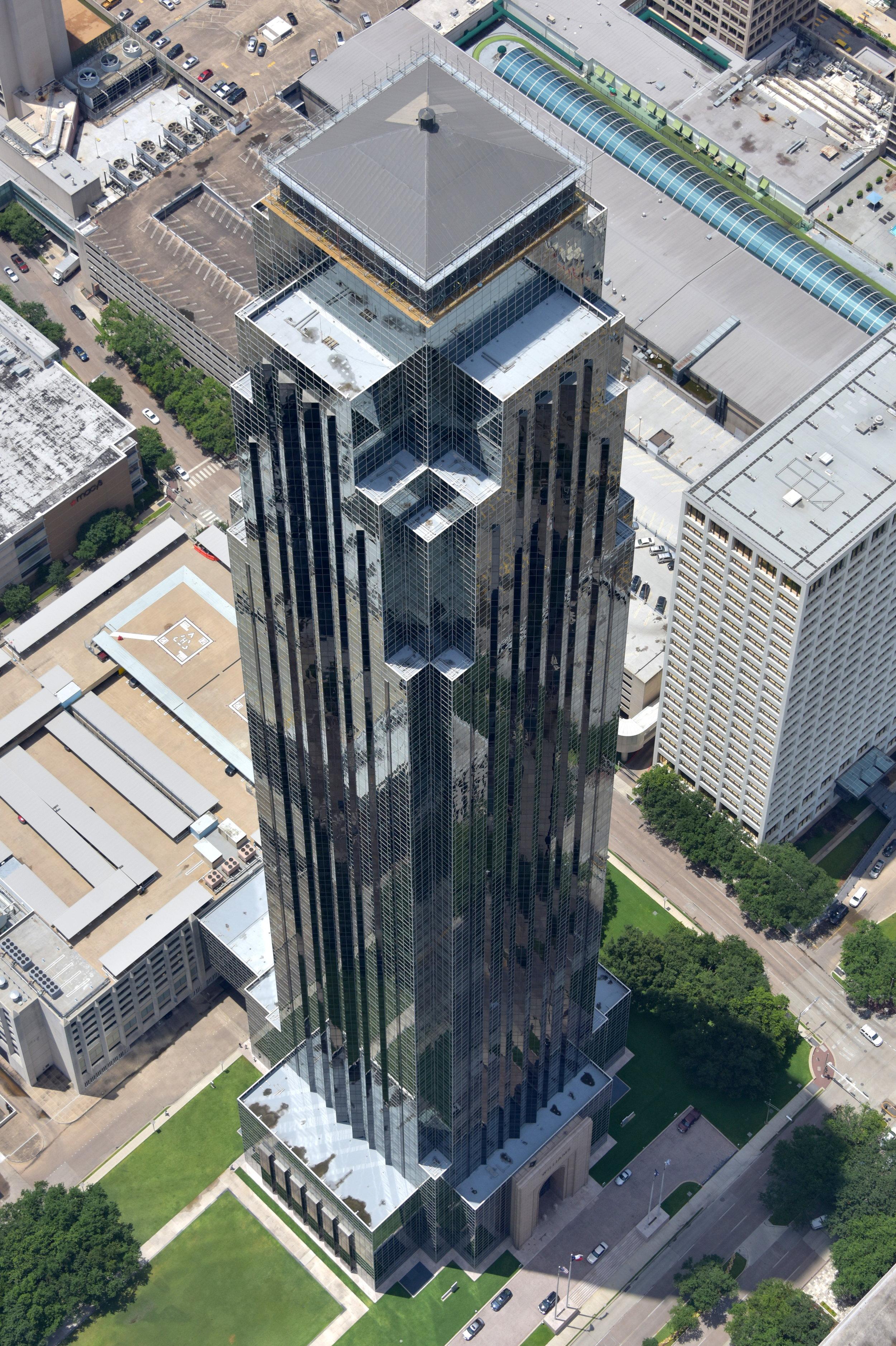 Williams Tower, Houston, Texas - Houston Aerial Photography - Houston Drone Photography - Houston Drone Video - Houston, TX