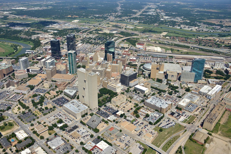 CBD, Fort Worth, Texas - Fort Worth Aerial Photography - Fort Worth Drone Photography - Fort Worth Drone Video - Fort Worth, TX