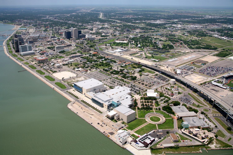 Downtown CBD, Corpus Christi, Texas - Corpus Christi Aerial Photography - Corpus Christi Real Estate Photography - Corpus Christi Drone Photography