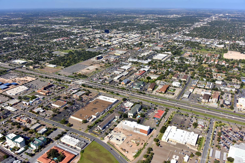 Downtown CBD- McAllen Aerial Photography - McAllen Aerial Photographer - McAllen Drone Image - McAllen, Texas