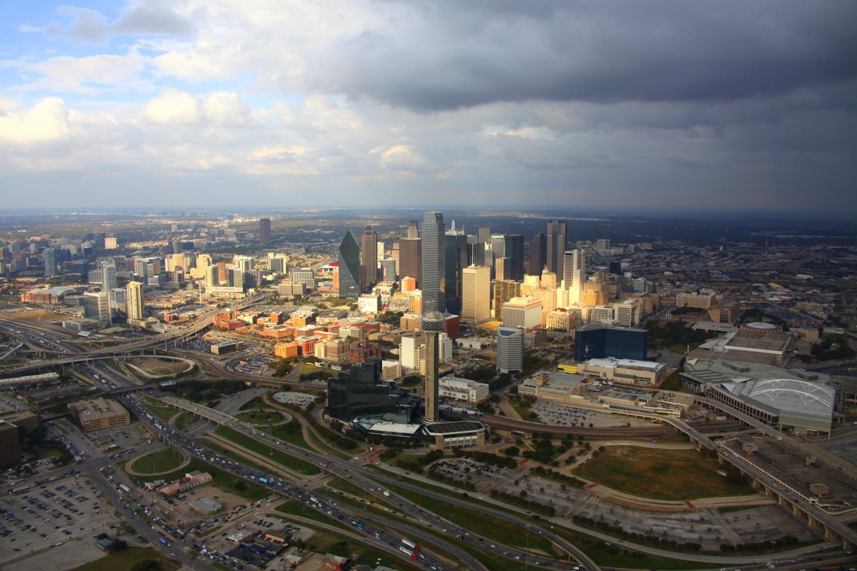 Dallas CBD - Dallas Aerial Photography Dallas - Aerial Drone Image - Aerial Drone Video - Dallas, TX