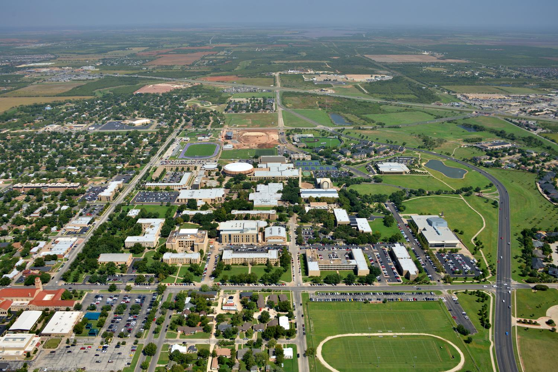 Abilene Christian University Downtown CBD- Abilene Aerial Photographer - Aerial Drone Image - Aerial Drone Video - Abilene, TX - West Texas