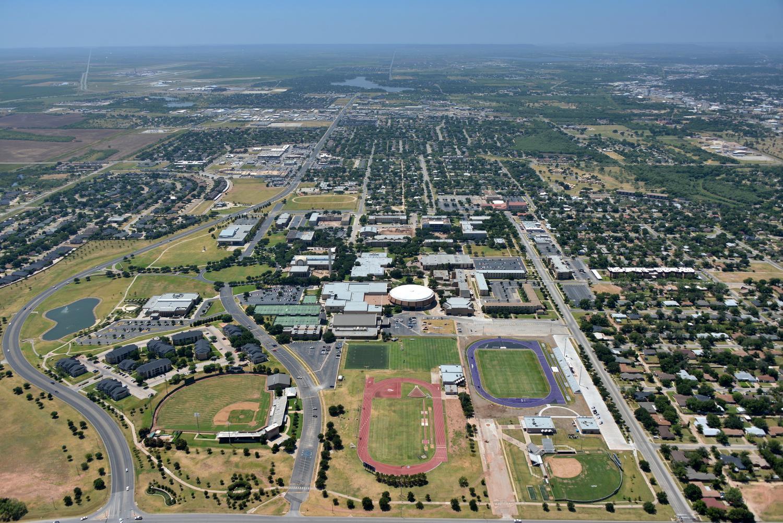ACU - Abilene Aerial Photographer - Aerial Drone Image - Aerial Drone Video - Abilene, TX - West Texas