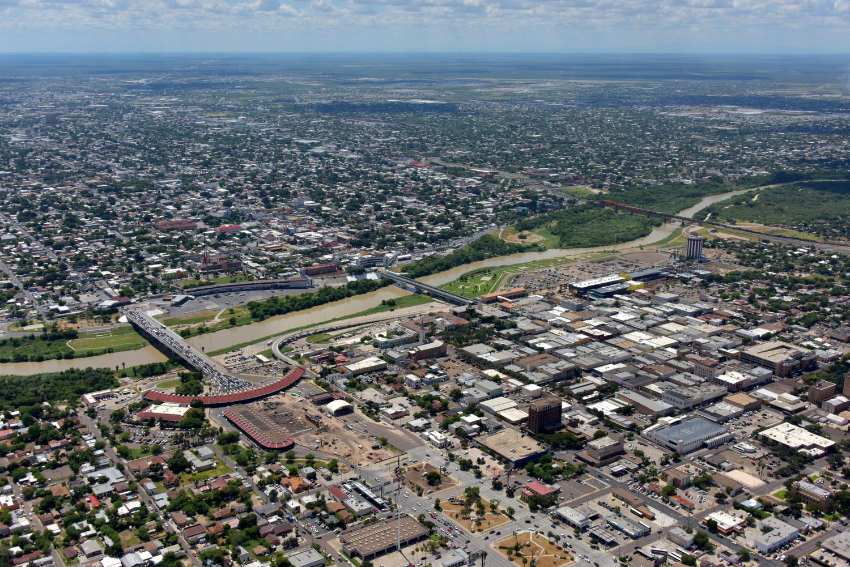 Rio Grande River , Laredo, Texas - Laredo Aerial Photographer - Aerial Drone Image - Aerial Drone Video - Laredo, TX - South Texas