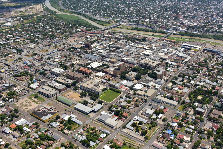 Laredo CBD, Laredo, Texas - Laredo Aerial Photographer - Aerial Drone Image - Aerial Drone Video - Laredo, TX - South Texas