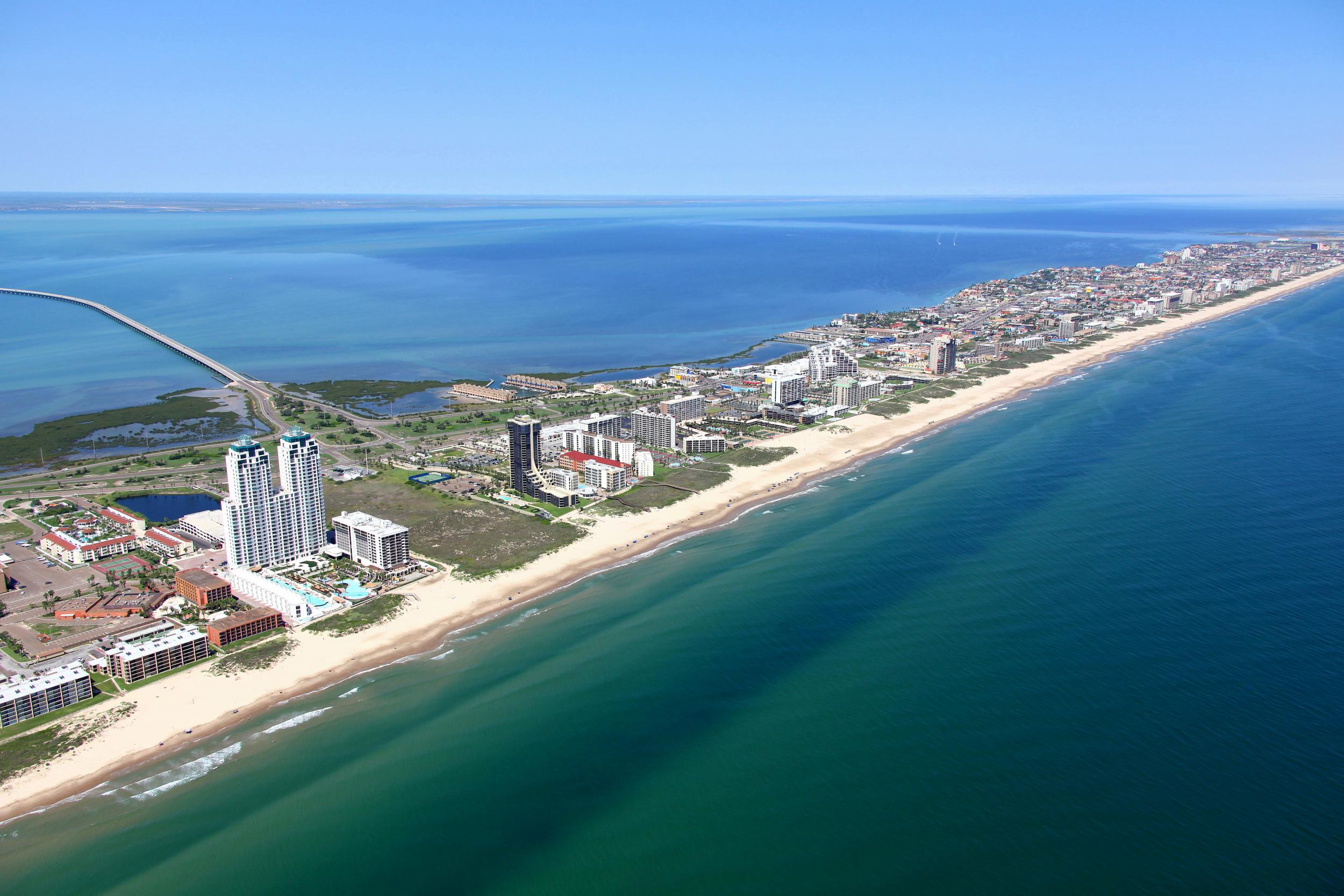 South Padre Island Tx Aerial Drone Ground Photo Video