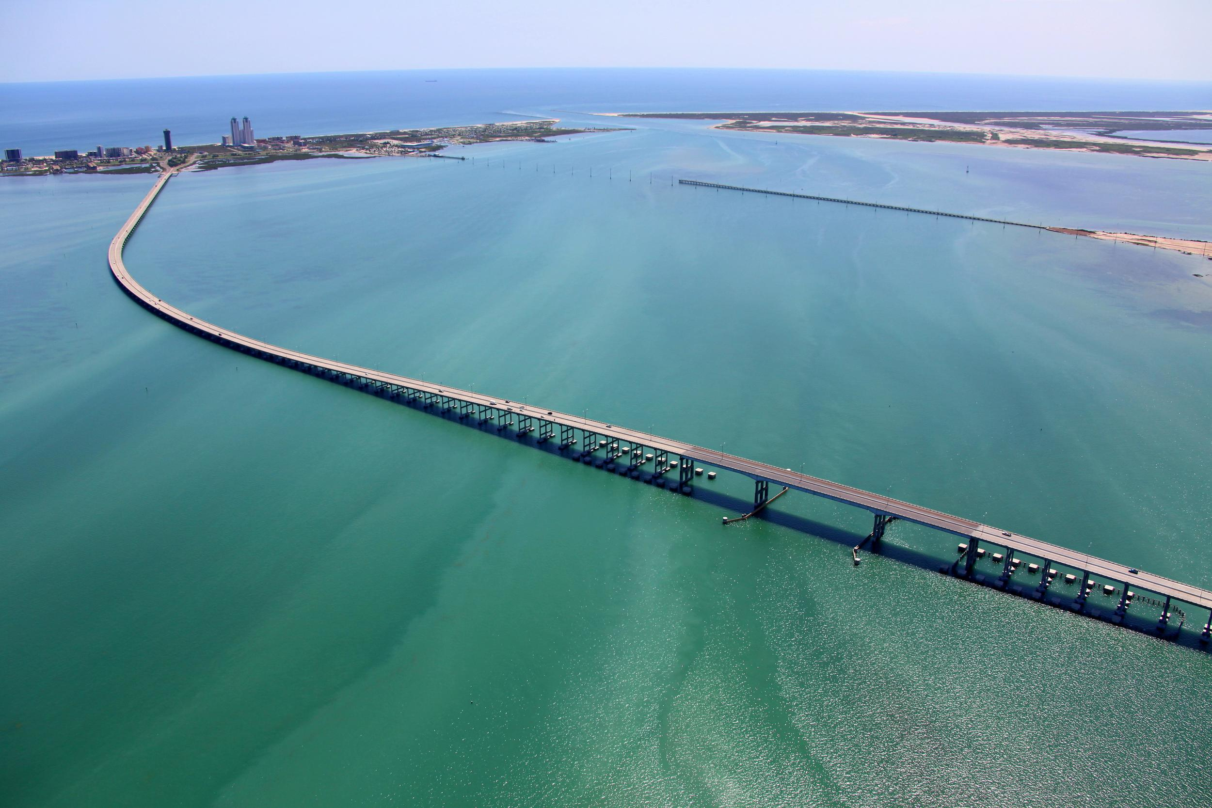 South Padre Island, TX aerial, drone, ground photo, video
